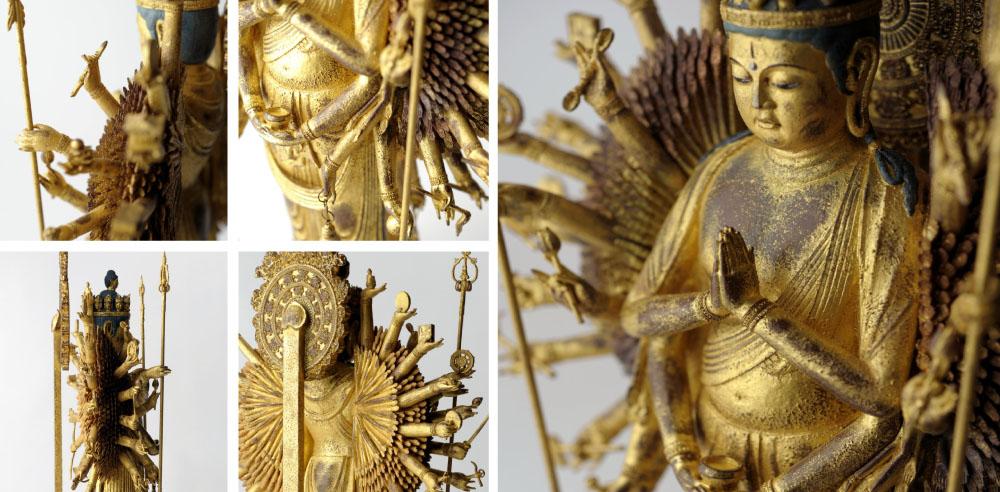 イスム 千手観音 実際に千の手を造形した稀有な像